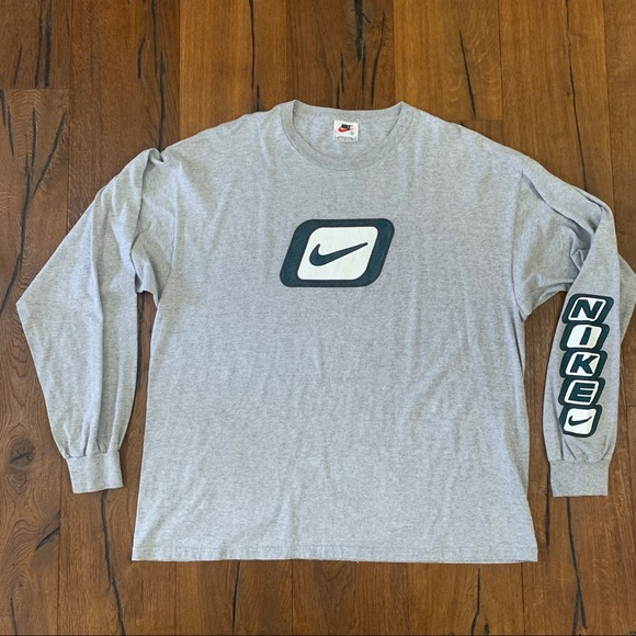 Nike Other - Vintage Nike Swoosh Spellout long sleeve shirt